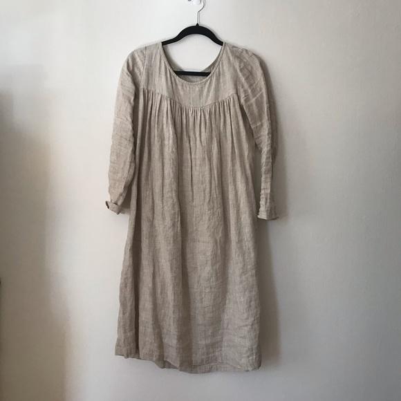 f22aa5b138ec5 Handmade Linen Dress